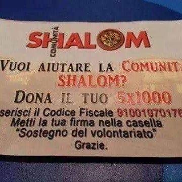 donazione-5x1000-comunità shalom